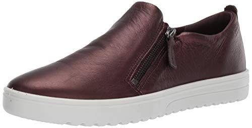 (ECCO Women's Women's Fara Zip Sneaker, fig Metallic, 38 M EU (7-7.5 US))