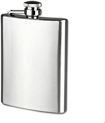Stainless Steel Hip Liquor Whiskey Alcohol Flask Cap 6 8 18oz Pocket Wine Bottle