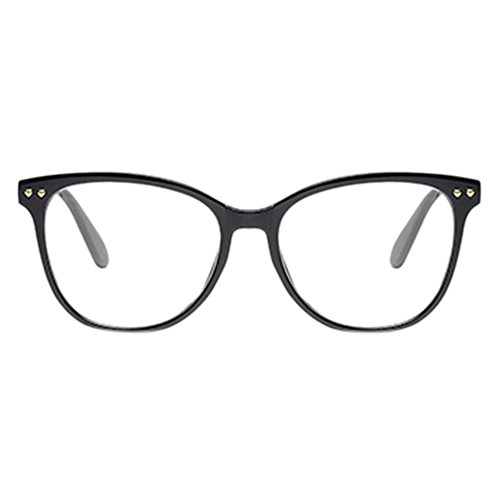 Optique Noir Lunettes Deylaying Vintage Lentille Oversized Goggles Plein prescription Cadre Femmes Eyewear Uv400 Ovale Personnalité Non Korean Claire n7RgXq7T