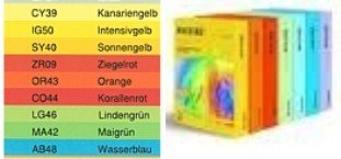 Papel DIN A6 2000 hojas de 80 g, Intensivo Colores, color ...
