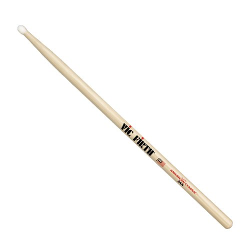 Nylon 3a Drumsticks (Vic Firth American Classic 3AN - nylon tip)