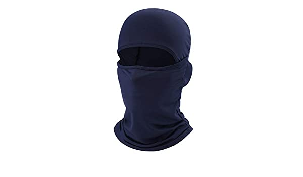 Qianliuk Motorcycle Face Mask Unisex Breathable Balaclava ...