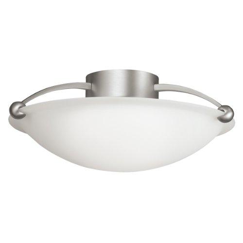 Kichler 8406NI Three Light Semi Flush Mount -