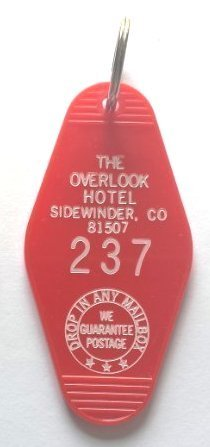 The Overlook Hotel Sidewinder, CO Inspired Key Tag from The Shining