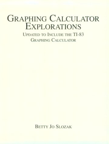 Graphing Calculator Explorations