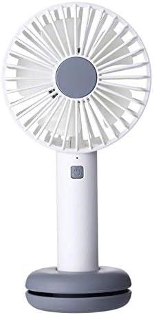 Sala-Deco USB Gadgets Handheld USB Fan Cooler 3 Speed Mini Fan 2000mAh Rechargeable Handy Small Desk Desktop USB Cooling Fan