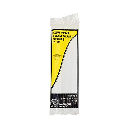 Woodland Scenics ST1446 Low Temp Foam Glue Sticks
