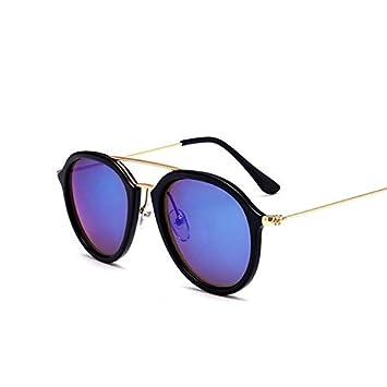 YUHANGH Gafas De Sol De Moda para Mujeres Espejo ...