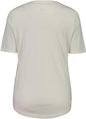 shirt 2019 Courtes Manches T Femme Vintage White Blanc Casacciam Tshirt Maloja STqEx7p7