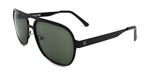 Zoo York Men's Aviator Sunglasses, Black Frame, G-15 Lens, - Zoo Eyewear York