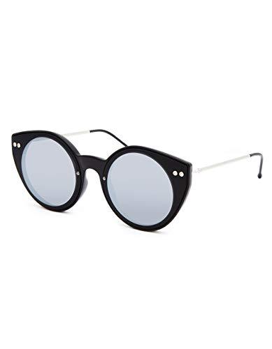 6284304f906 SPITFIRE SUNGLASSES Alpha 1 Black   Silver Mirror Sunglasses