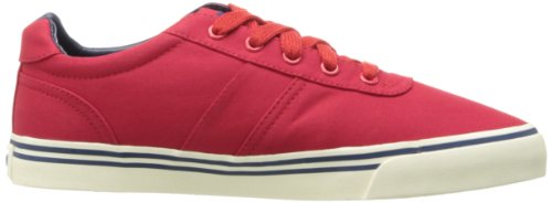 Polo Ralph Lauren Heren Hanford Canvas Fashion Sneaker Red / Fall Royal