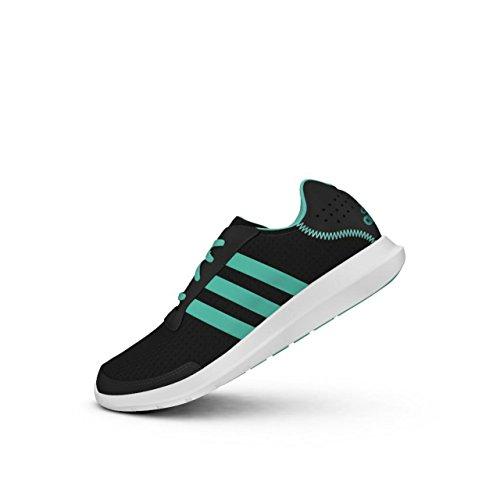 adidas element refresh w - Zapatillas de deporte para Mujer, Negro - (NEGBAS/MENSEN/FTWBLA) 45 1/3
