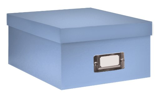 Pioneer Photo Albums B-1S/SB B-1S Photo Storage Box, Sky Blue (Photo Storage Negative)