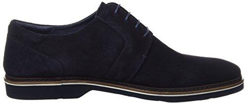 Azul Dark Zapatos Tyler para Hombre de Navy Cordones Martinelli Derby 01wwqR