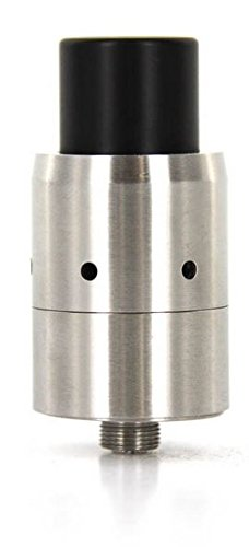Velocity RDA Clone Dripping Atomizer With Monster Competition Cloud Chaser  Drip Tip Dual Coil (Stainless Silver)