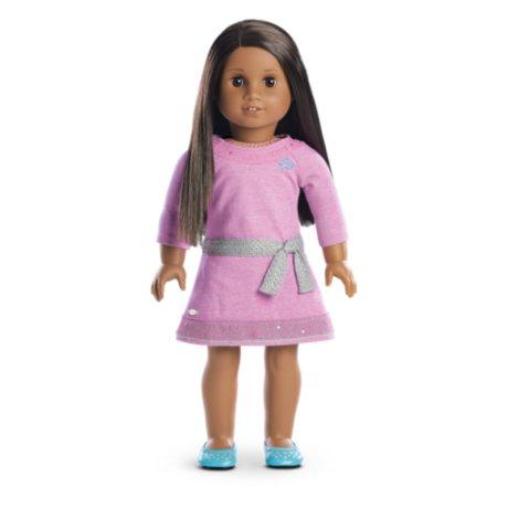 American Girl - Truly Me™ Doll: Dark Skin, Dark Brown Hair