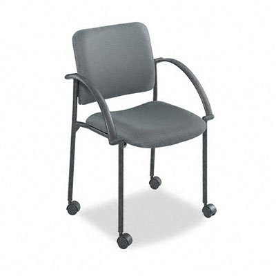 Safco Moto Stack Chair in Charcoal (4184CH)