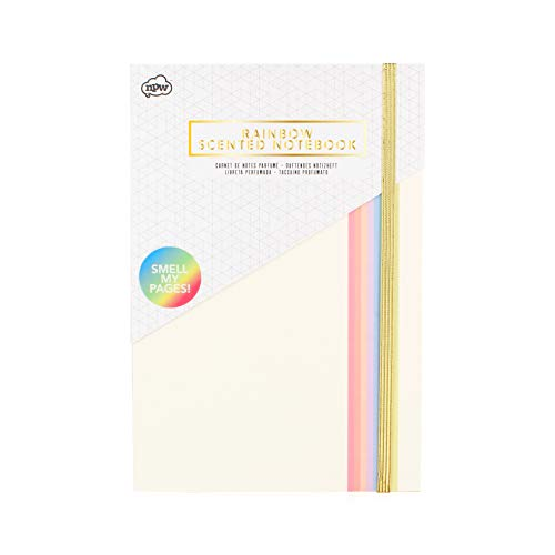 Rainbow Scented Notebook, Sherbet (Journal Rainbow Paper)