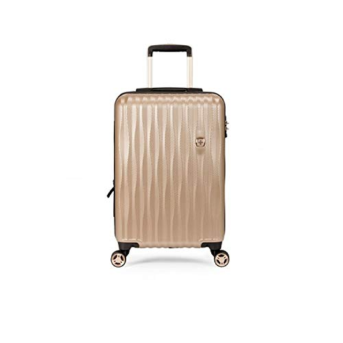 "SwissGear 7272 19"" Energie Hardside Luggage with USB - Gold"