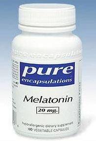 La mélatonine Pure Encapsulations