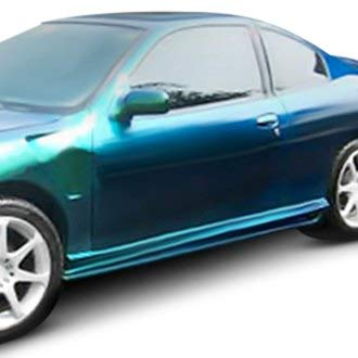 Duraflex Replacement for 1995-2002 Pontiac Sunfire 2DR Bomber Side Skirts Rocker Panels - 2 Piece ()