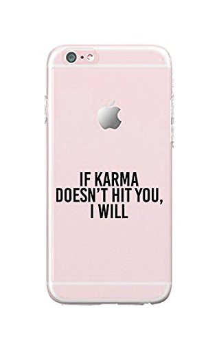 Amazon Iphone 5c Durable Slim Case If Karma Doesnt Kill