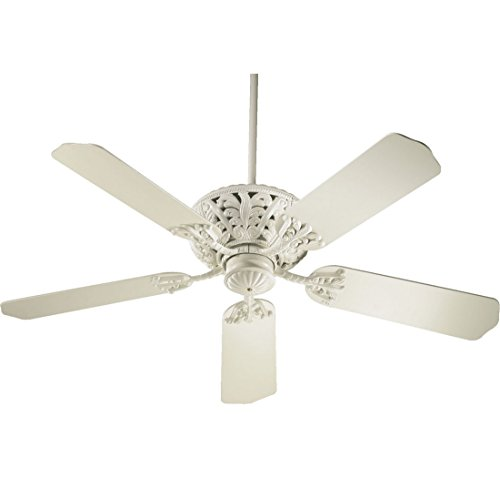 Quorum 85525 67  Windsor Antique White Energy Star 52  Ceiling Fan