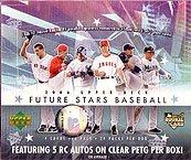 2006 Upper Deck Future Stars MLB Baseball Sports Trading Cards Box (Upper Deck Future Stars)