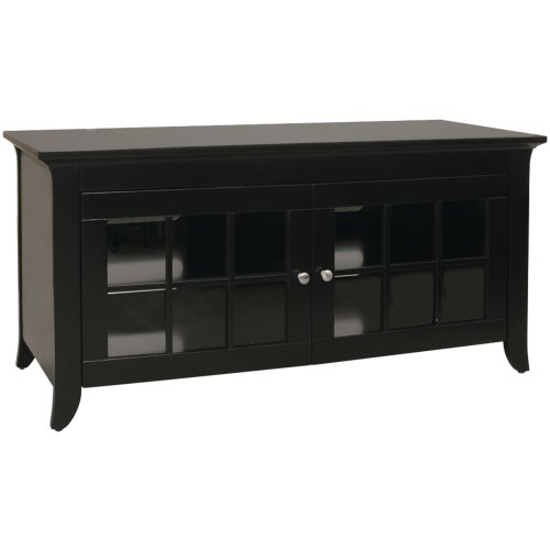 TechCraft CRE48B 48-Inch Wide Flat Panel TV Credenza - - Credenza Entertainment Crafts