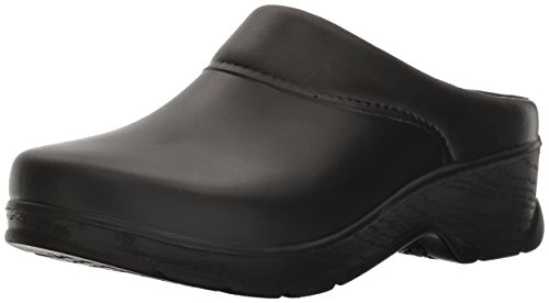 Klogs USA Women's ABILENE Clog,Black,9 M US