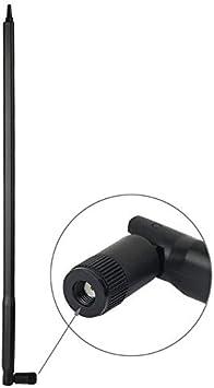 Accesorios para PC LGMIN 2,4 GHz 22dBi RP-SMA Antena for ...