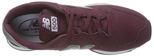 Balance 500 New Rouge Homme Burgundy Baskets burgundy q5RUdCR