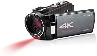 MINOLTA 4K ULTRA HD 30 MEGA PIXELS NIGHT VISION DIGITAL CAMCORDER, MN4K20NV