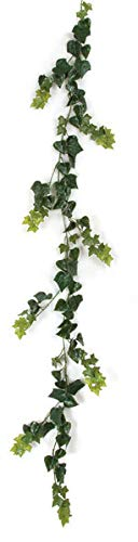 - 9 Foot Outdoor English Ivy Garland Polyblend UV Foliage