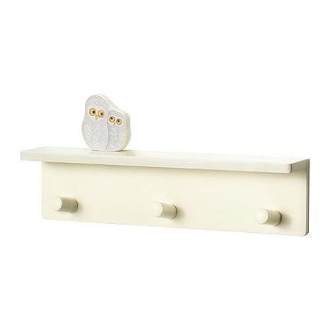 Ikea Klade perchero con 3 perchas y buhos: Amazon.es ...