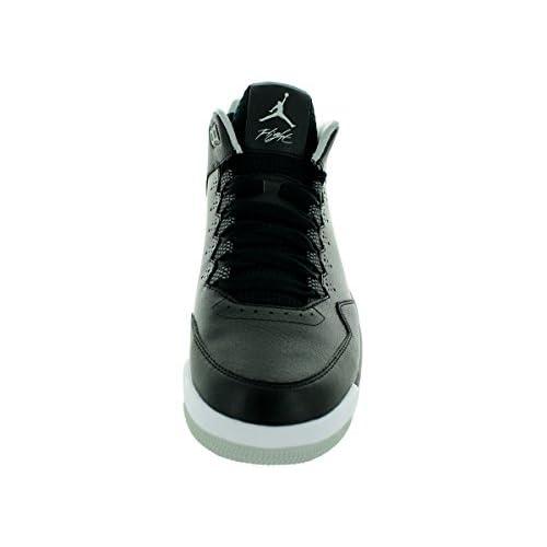 17e688ba048c Nike Jordan Men s Jordan Flight Origin 2 Black Black White Grey Mist  Basketball