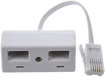 Een BT Plug naar Twee UK BT Telefoon Socket Adapter Splitter Creatief en Handig