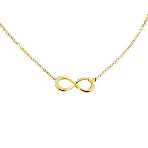 Boosic Pendant Necklace Crystal Infinity