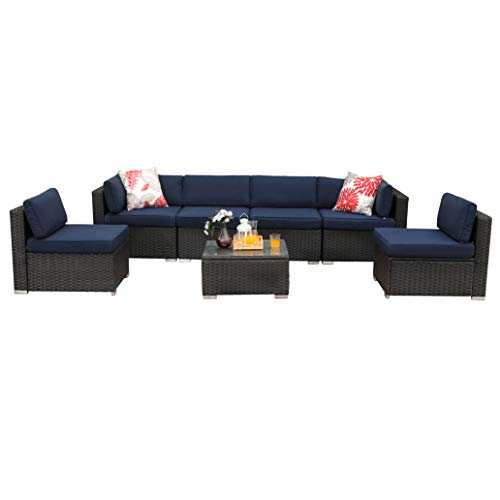 Light Blue Patio Furniture in US - 7