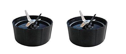 2) Nueva afeitadora Ice Blade para Magic Bullet w/Junta Recambio ...