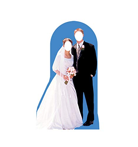 Advanced Graphics Bride & Groom Stand-In Life Size Cardboard Cutout Standup