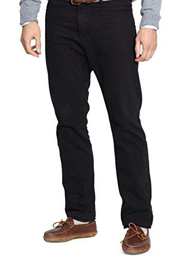 Polo Ralph Lauren Men's Hudson Relaxed Straight-Fit Jeans (31x30, Hudson Black)