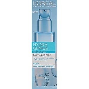 L'Oreal Paris Hydra Genius Daily Liquid Care, Normal/Dry Skin, 3.04 fl. oz.