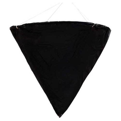 Datrex DX0014M, 24'' Cone Day Signal/Shape 'Engaged in Fishing', Black, 1 Pack
