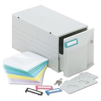 Innovera® CD/DVD Storage Drawer DRAWER,W/75 CDPCKTS,LOCK (Pack of3)
