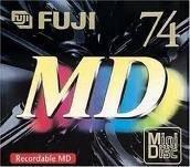 Fuji Recordable MD (MiniDiscs)
