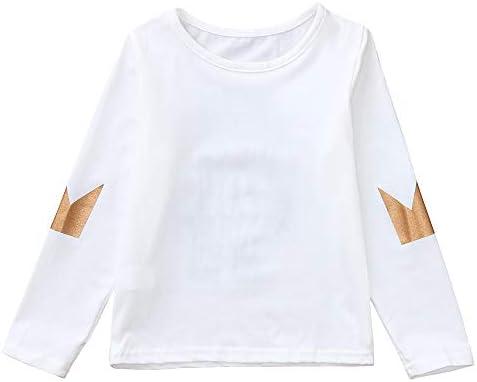 Amazon Com Camiseta De Manga Larga Para Bebés Y Niñas De 2 A 6 Años De Edad A La Moda Con Dibujos Animados Clothing