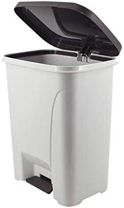 ゴミ袋 ゴミ箱用アクセサリ ふたのオフィスの不用なペーパーバスケットが付いている大容量のゴミ箱便利な収納箱の世帯大容量のゴミ箱 キッチンゴミ箱 (サイズ : 30L)