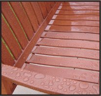 Wood Wax, Outside Furniture, Beeswax Preserver Uv Protection by Howard Products (Image #3)